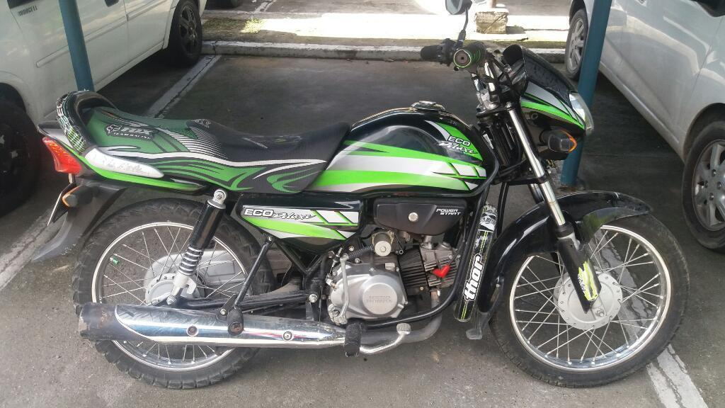 Vendo Moto Eco Plus Modelo 2014