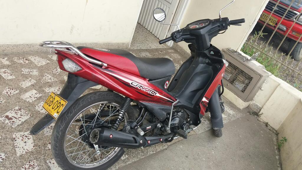 Yamaha Crypton 2 Roja Al Día 3300000