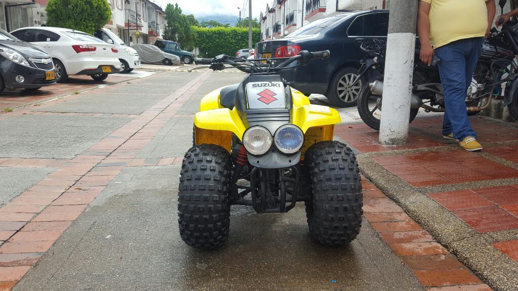 Cuatrimoto 125cc Suzuki