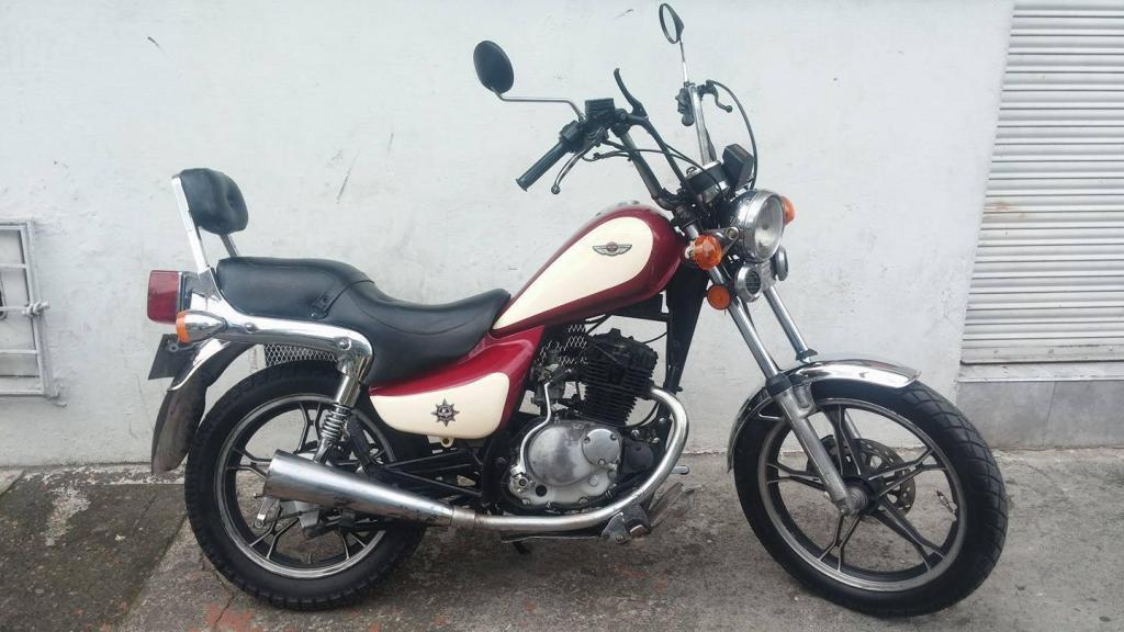 MOTO JINCHENG 125cc 1999 BARATA $1.999.999 BOGOTA CHOPPER