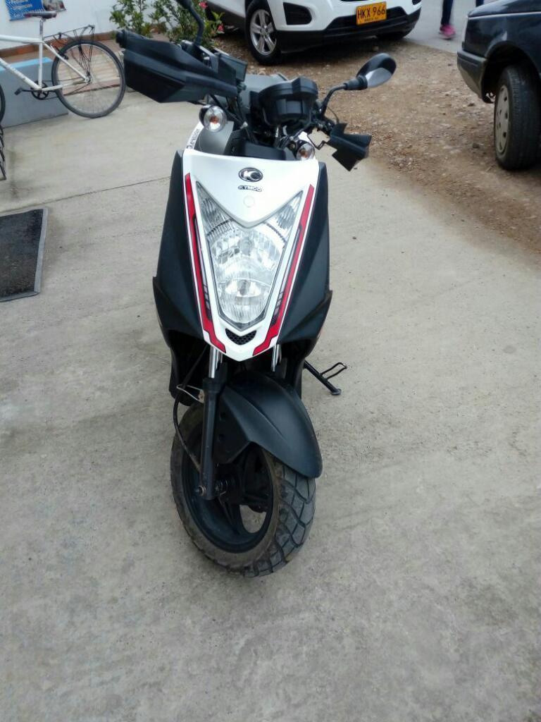 Moto Kimco Agility 2016