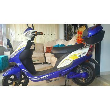 Moto Electrica Ecologica