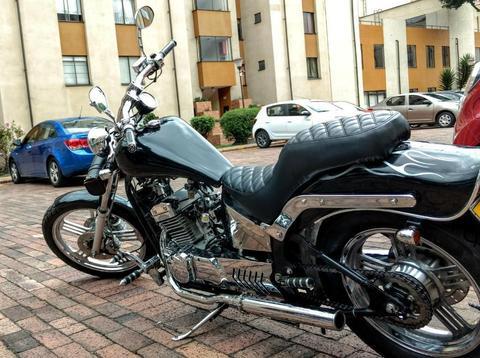 Motocicleta Chopper Estilo Harley