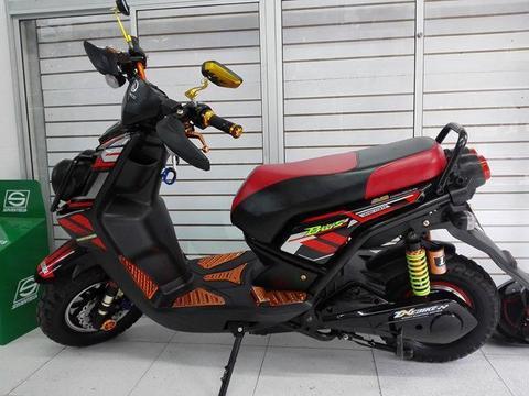 moto electrica bws