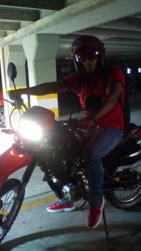Gangazo Moto Enduro 150 Todo Funciona