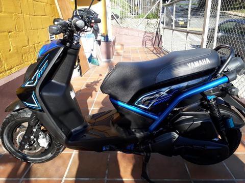 Yamaha Bws X 2016 Hermosa Único Dueño Traspaso Inmediato Llantas Nuevas Ganga