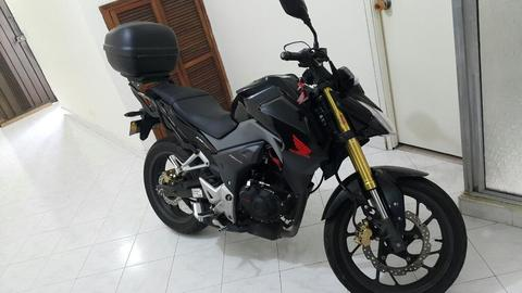 Vendo Honda Cb 190 R 2018