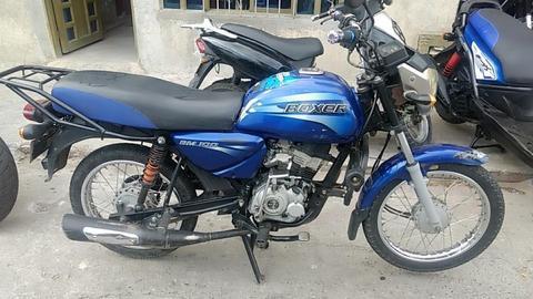 Bajaj Boxer Azul Modelo 2013